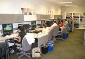 Students in the YCEO Lab