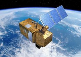 Rendering of the Sentinel-2 satellite