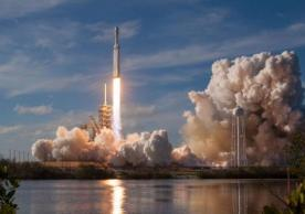 The Falcon Heavy launch - Photo by SpaceX