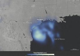 Hurricane Harvey rainfall